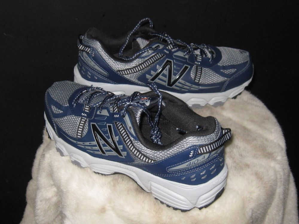 5dbadf44a1fb Men s New Balance 410 v4 Trail Running Sneakers Sz 9.5 Navy Gray MT410SN4   NewBalance  RunningCrossTraining