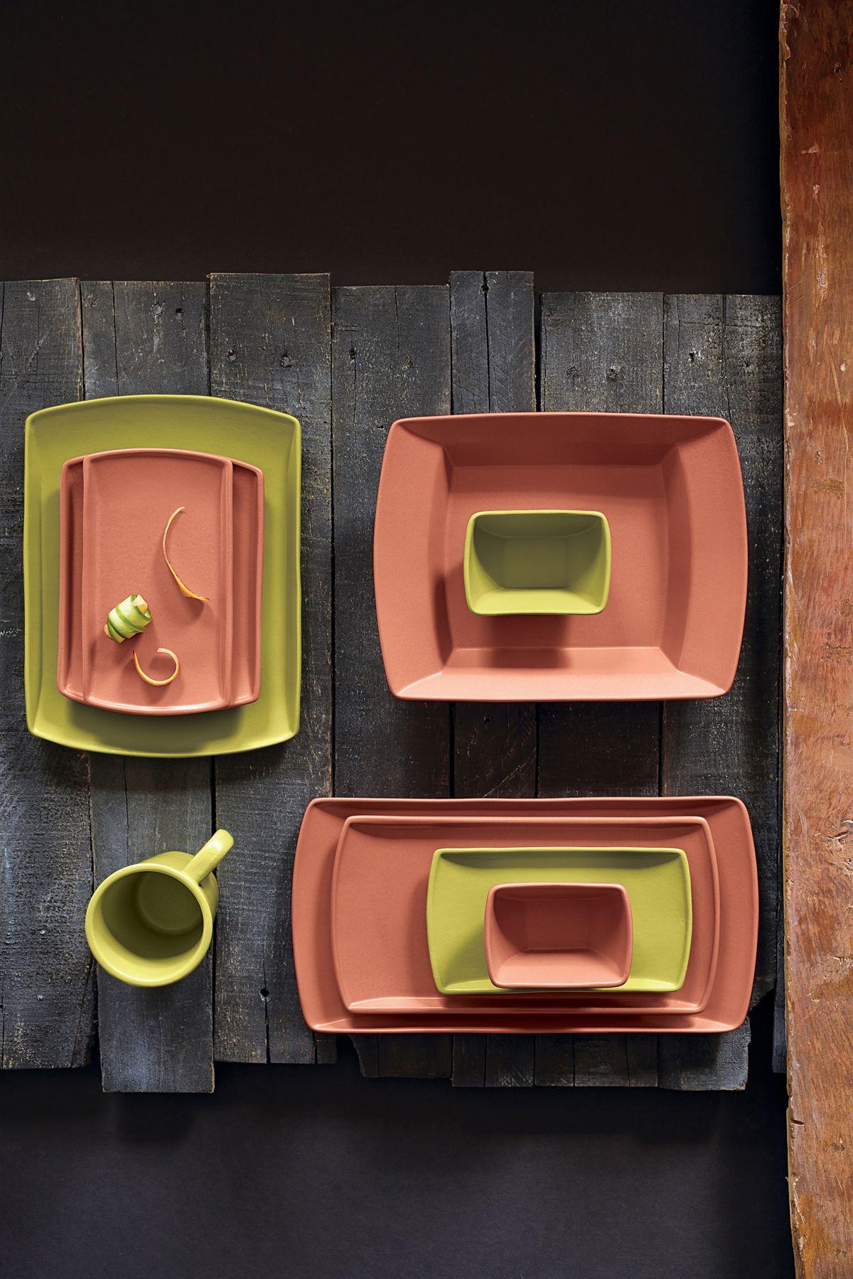 SEDONA by Anfora - Sunset, Lime Green #steelite #tabletop