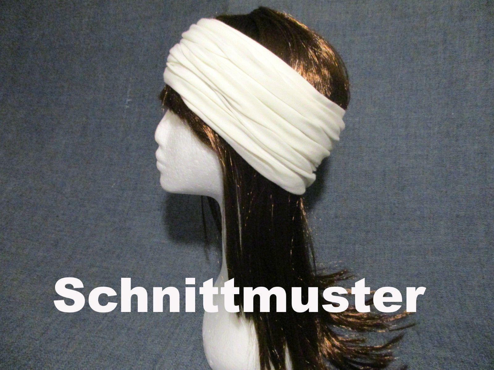 Damen Mädchen Jersey Turban Stirnband Haarband Ohrwärmer ...