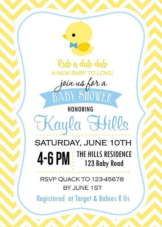 cutiebabescom duck baby shower invitations 06 babyshower Baby