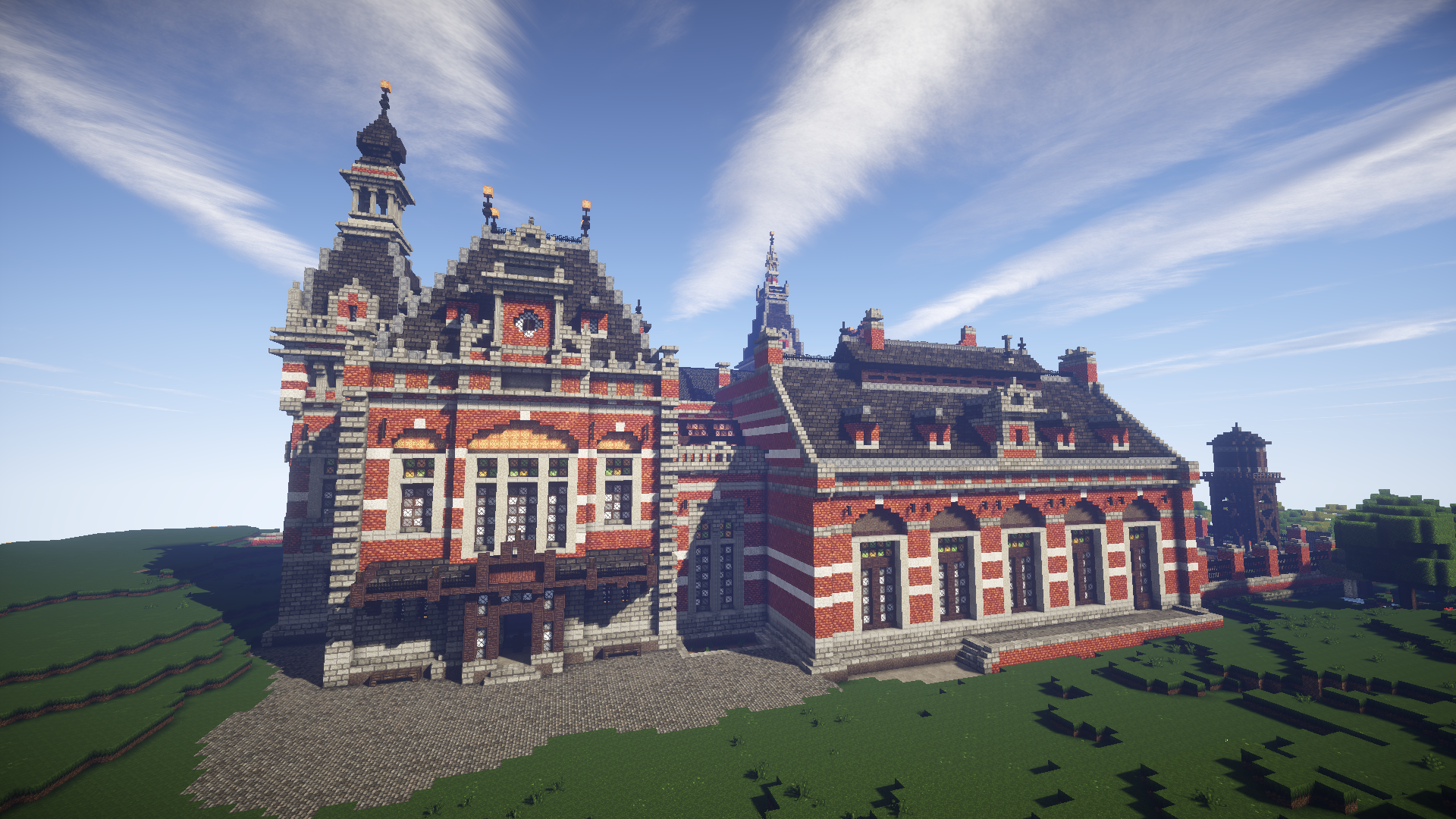 I Have An Awesome Set Of 18 Beautiful Minecraft Wallpapers The Grand Palace Station