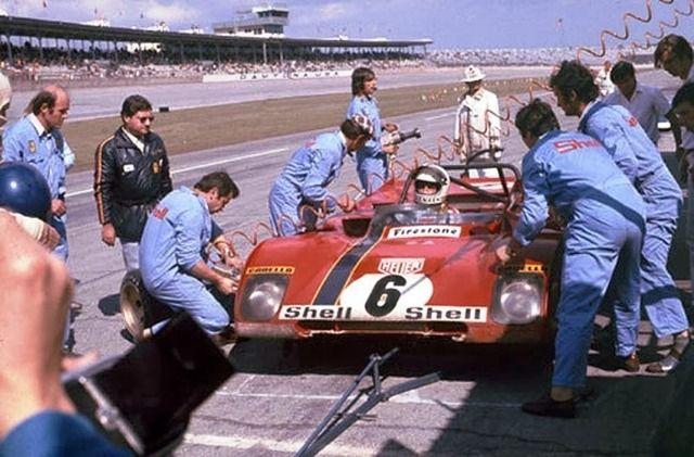 Ferrari 312P (B) em Tim Schenken / Ronnie Peterson 1972