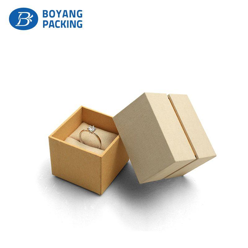 Professional Custom Paper Jewelry Box Plastic Jewelry Box Jewelry