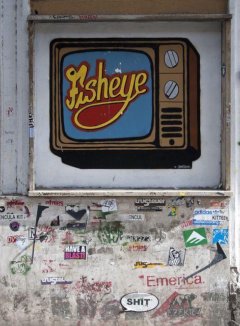 Graffiti, Rome, 2010.