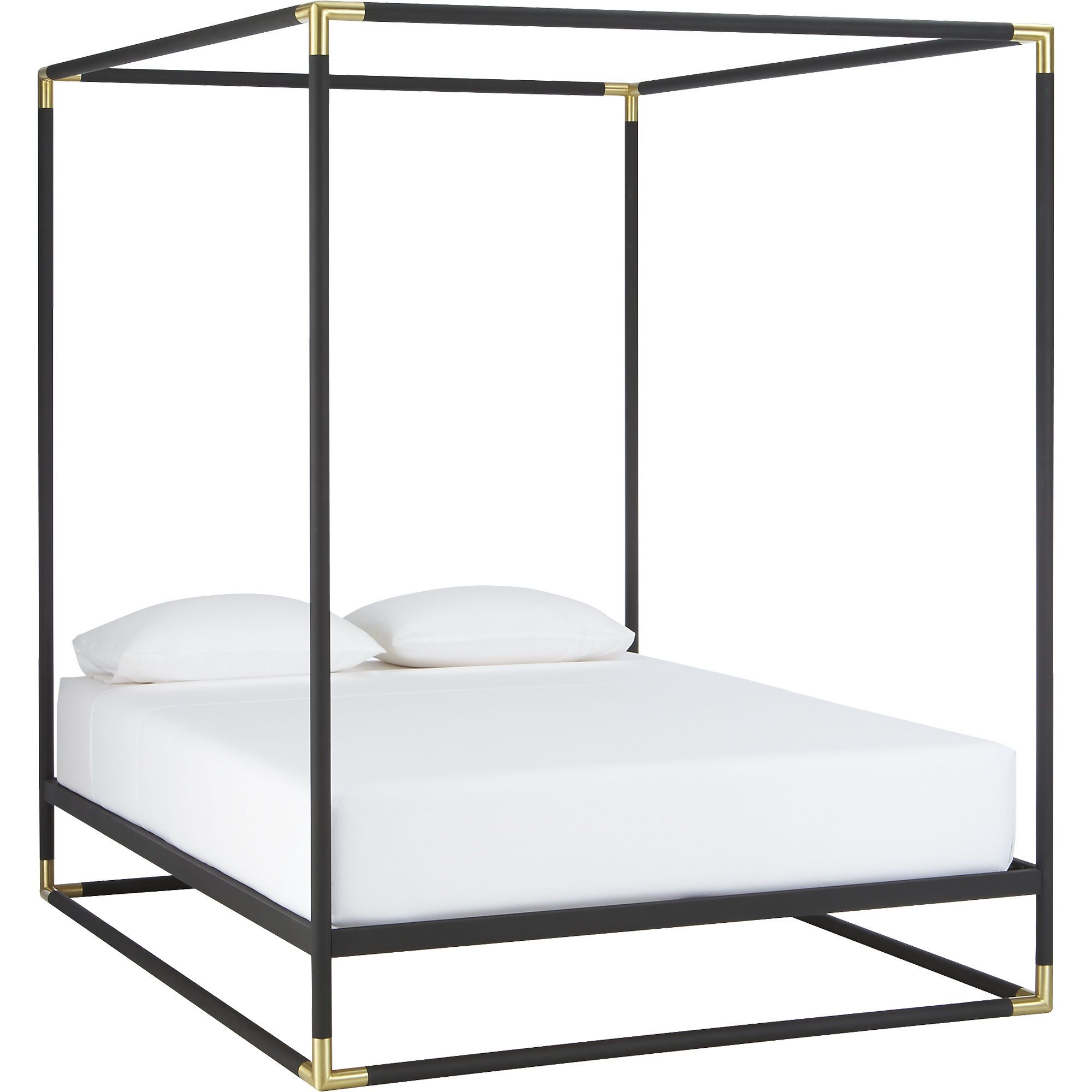 Best Frame Canopy Bed Cb2 With Images Metal Canopy Bed 400 x 300