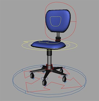 Office Chair Rig For Maya Free Character Rigs Downloads For Maya
