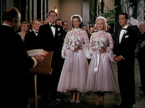 gentlemen prefer blondes fashion | Wedding dresses, Wedding dresses  vintage, Vintage style wedding dresses