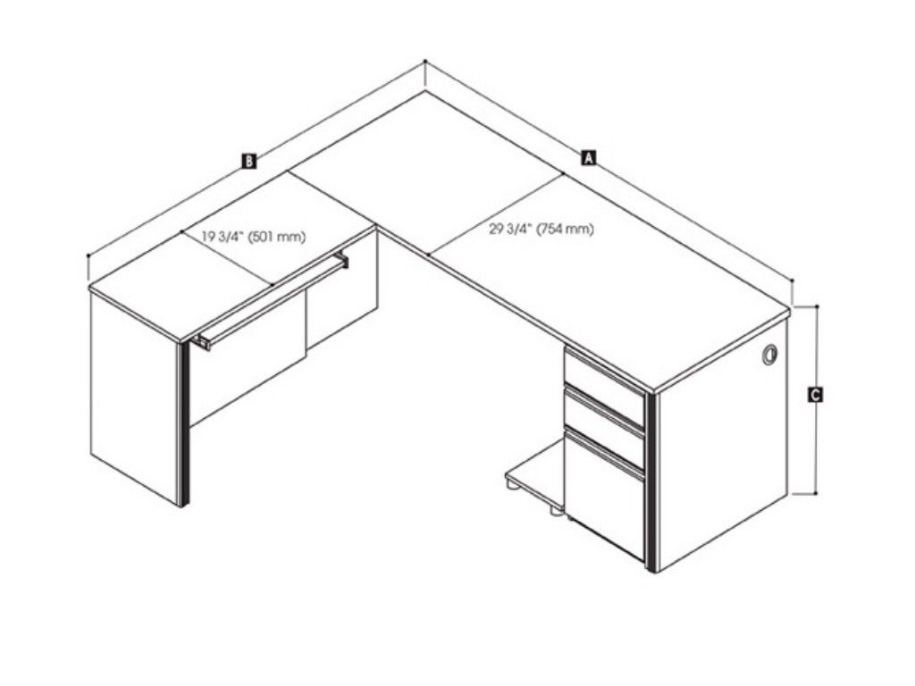 Office desk dimensions google search dimensions for Office desk sizes