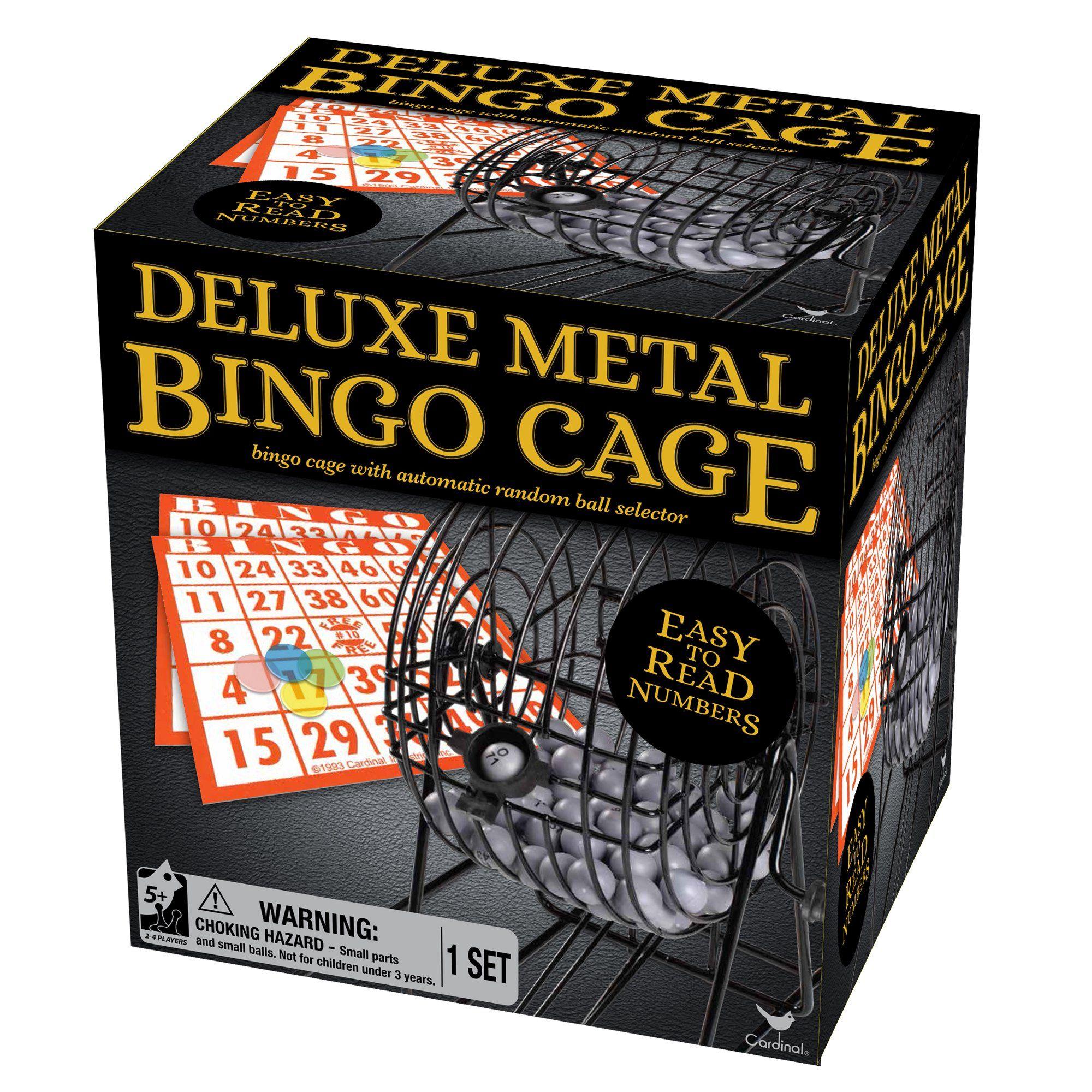 Deluxe metal bingo cage set in 2020 bingo