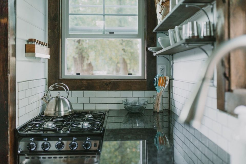 Aging In Place In A Tiny House Talk About Downsizing Tiny House Luxury Tiny House On Wheels Tiny House Kitchen