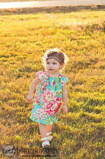 Flower Dress 100% Cotton