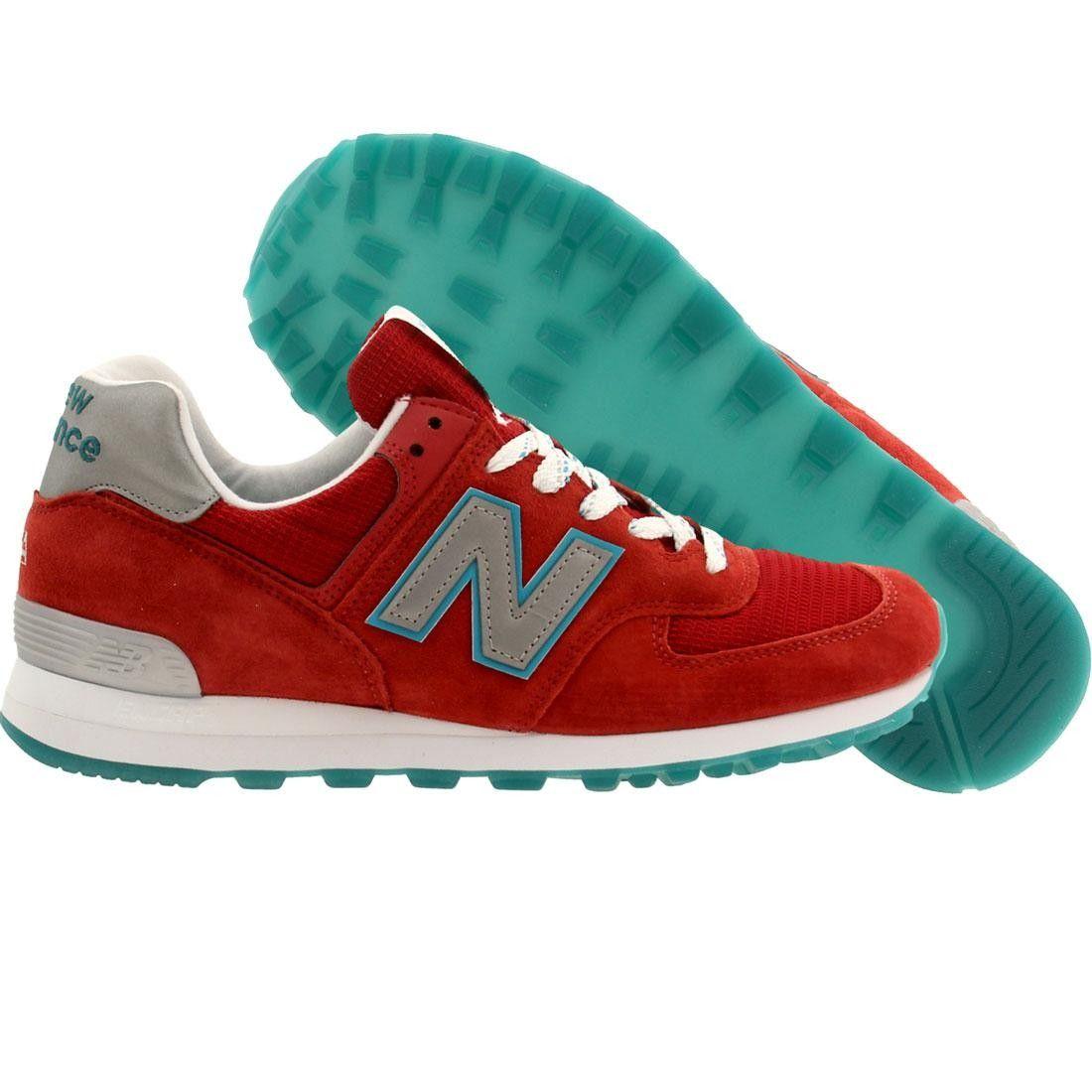 New Balance Men US574CPA - Made in USA (red)