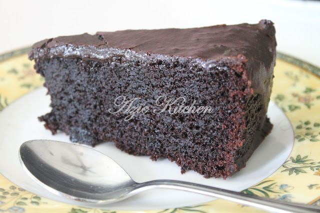 Azie Kitchen Moist Chocolate Cake Lagi Dan Lagi Cake In