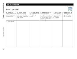 Logic Model Template  Google Search  ABoard