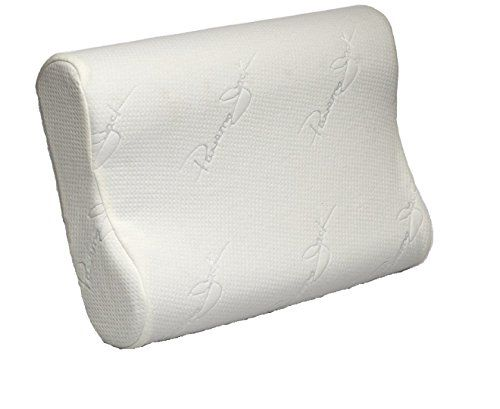 Cervical Contour Pillow Memory Foam Chiropractic Vented Cooling