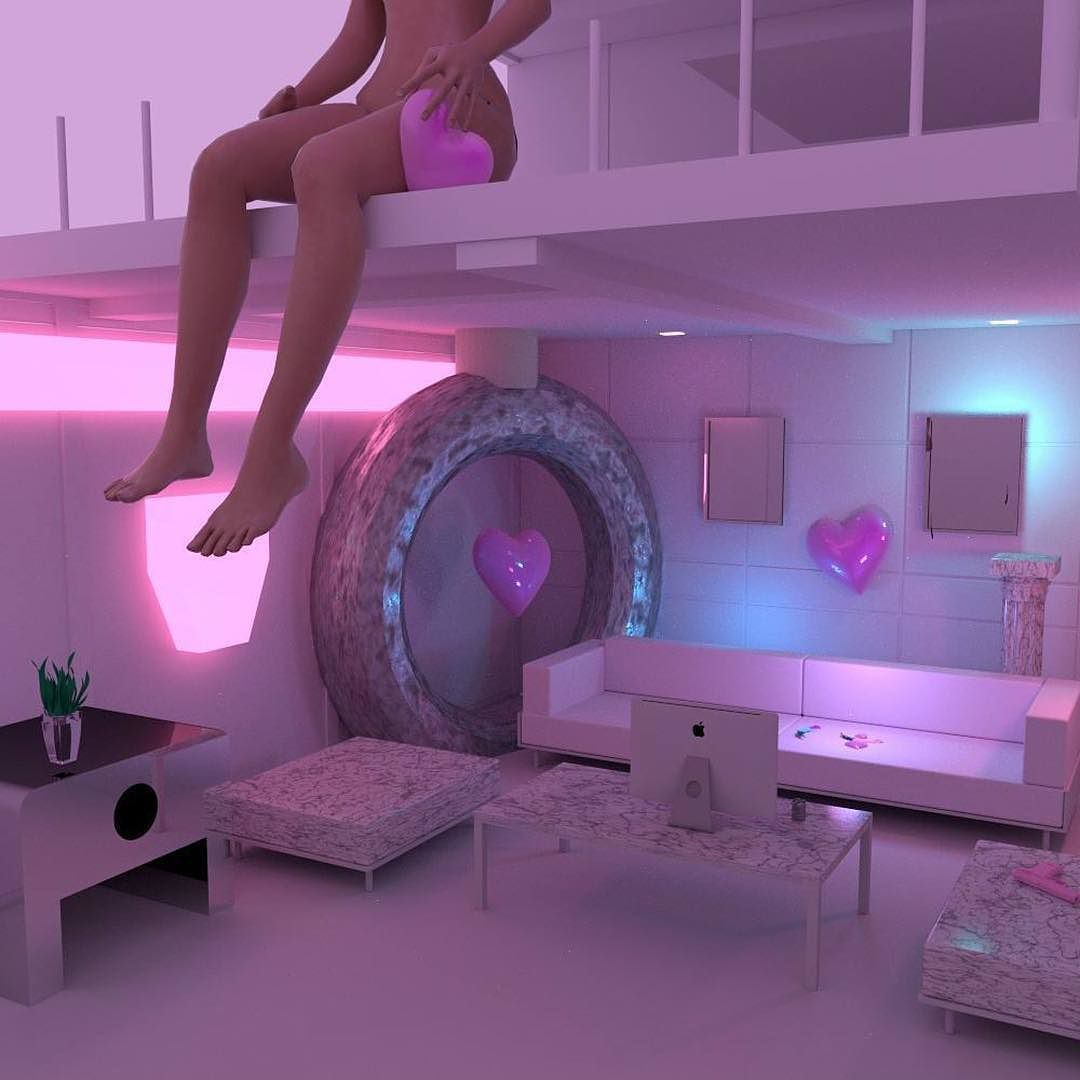 17 Best Ideas About Neon Bedroom On Pinterest: Pin By � On Space Girls.
