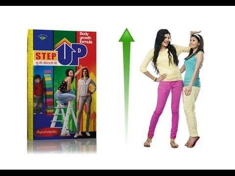 Step Up Height Increaser Herbal Body Growth Formula Will Help To