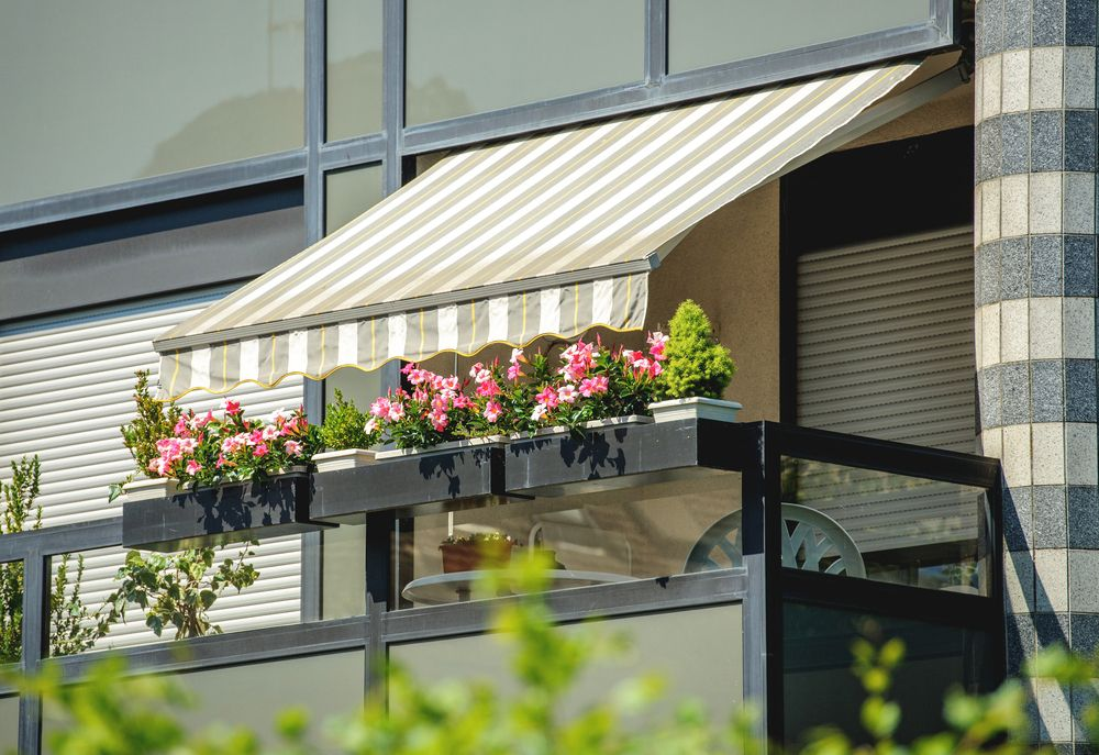Schattenspender für Balkon und Terrassen | TERRASSE | Pinterest ...