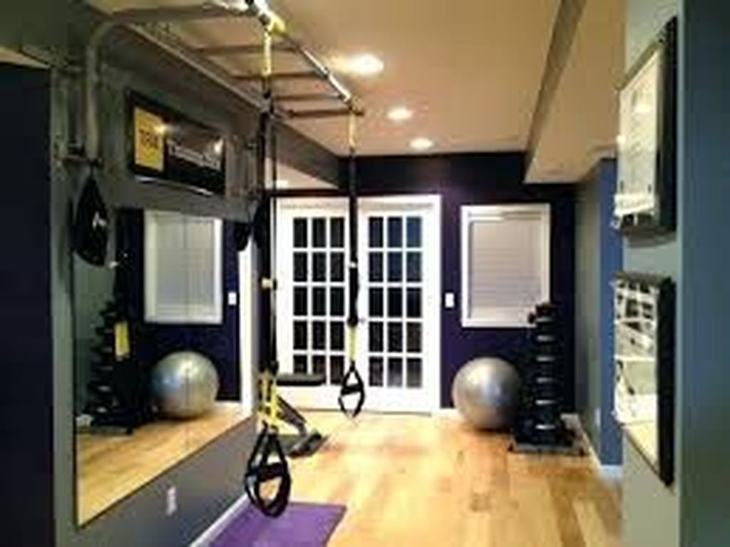 20 Cheap Home Gym Decorating Ideas For Small Space Coodecor Small Home Gyms Gym Room At Home Workout Room Home