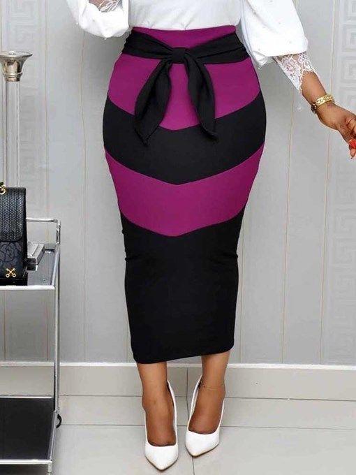 d5115cb40 Knee length bodycon hole plain western women s skirt – Artofit