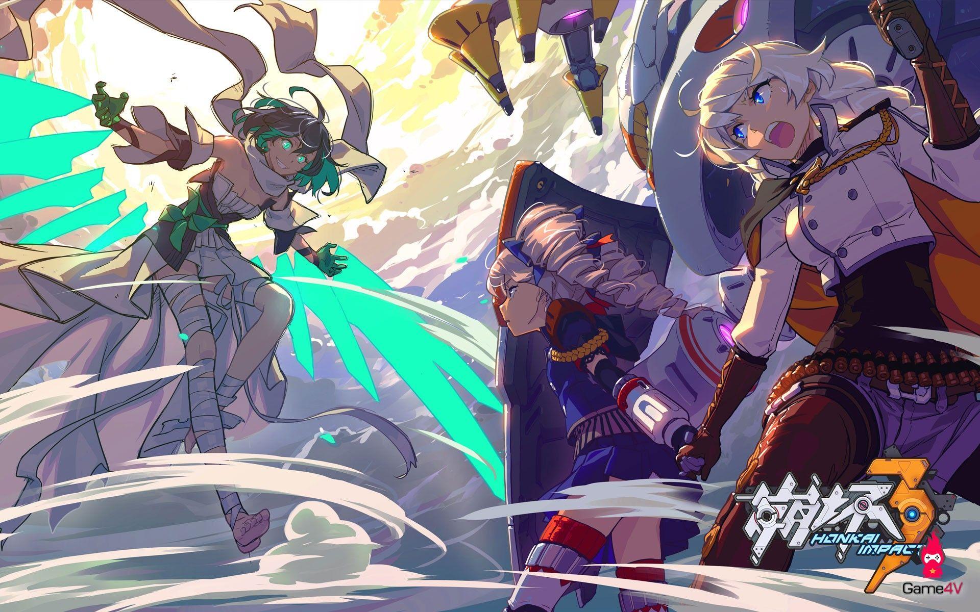 Kết quả hình ảnh cho honkai impact 3 Anime, Hình ảnh