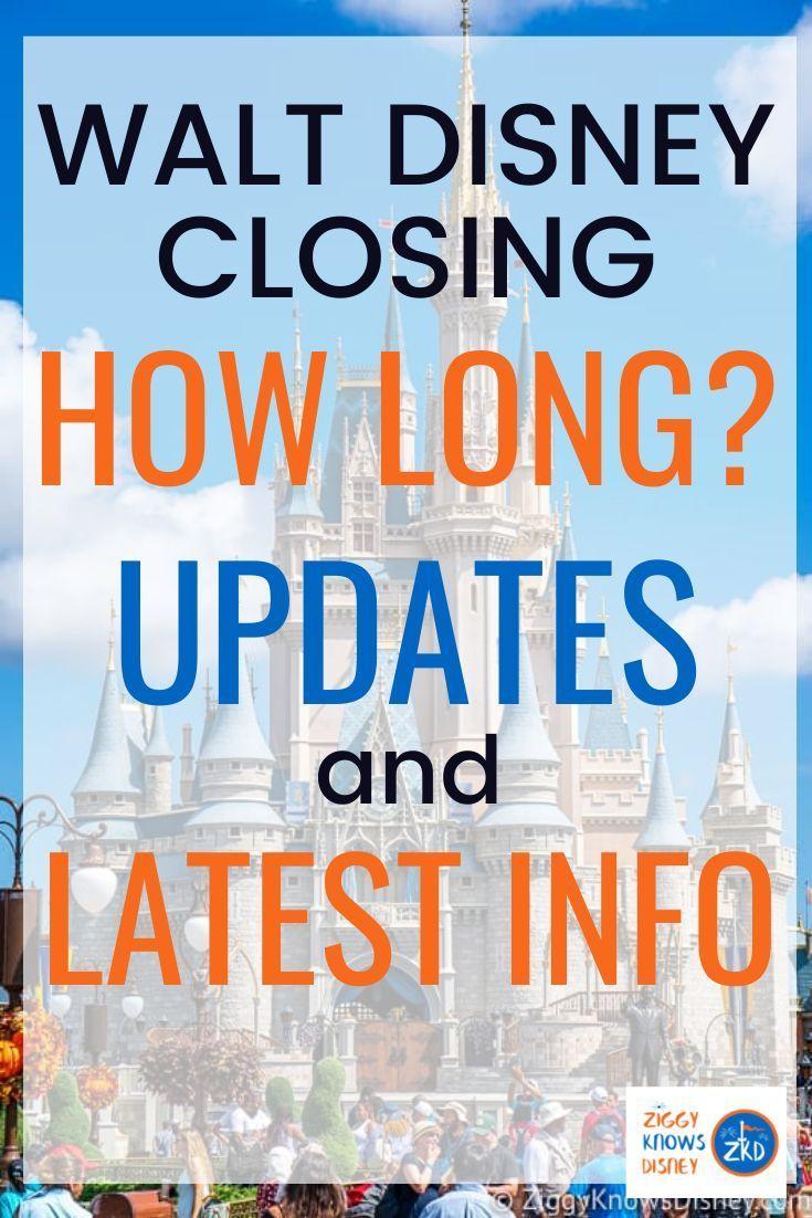 BREAKING Walt Disney World Closed Extended Indefinitely