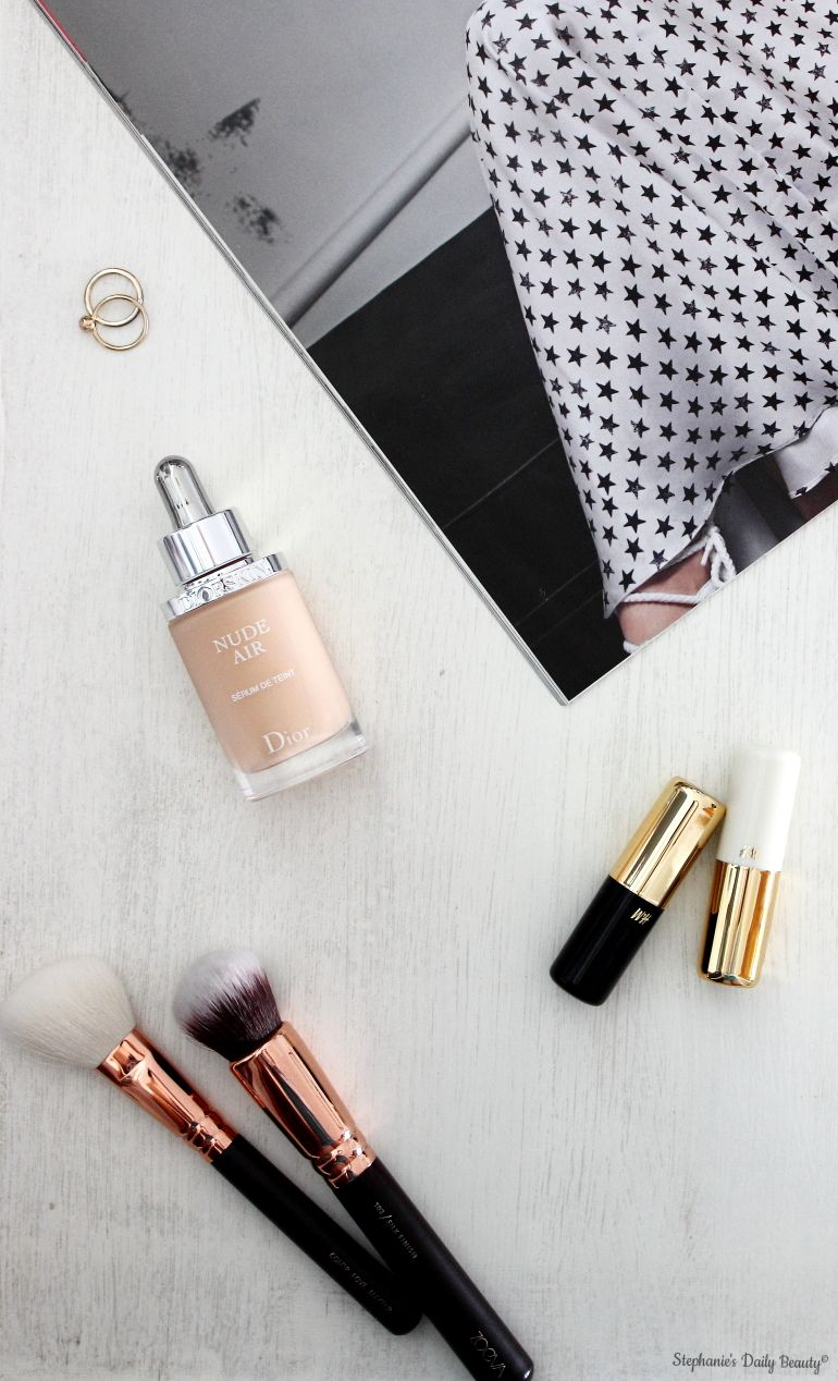 DiorSkin Nude Air Serum Foundation | Stephanie's Daily Beauty #makeup #diorskin #foundation
