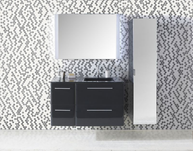 Meubles COOKE&LEWIS Meltem - castorama | appartement | Pinterest ...