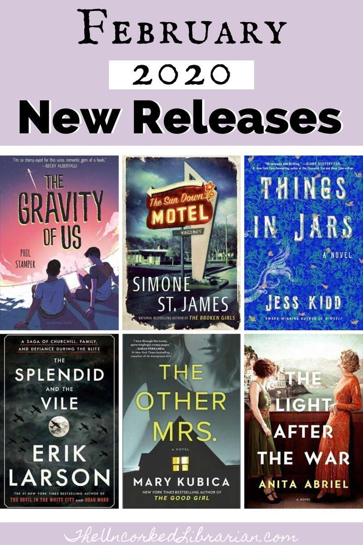 Book buzzed february 2020 book releases reading list