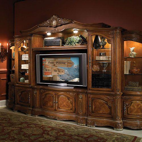 Entertainment Units Michael Amini Furniture Designs