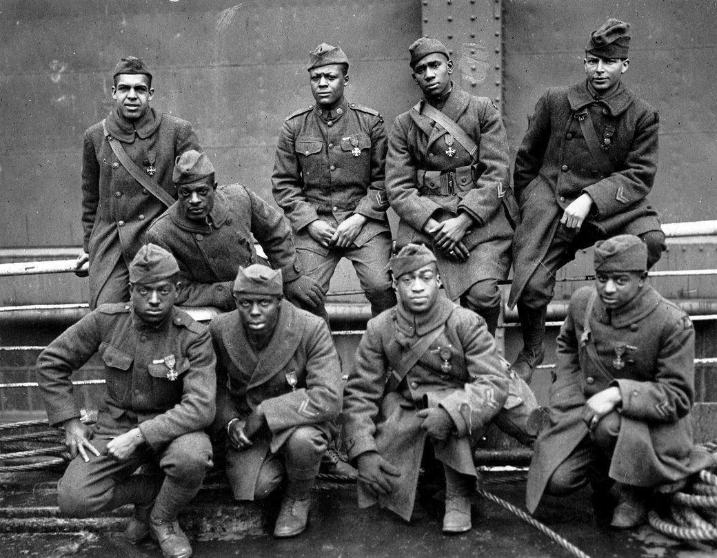 c.1914-1918:+The+Harlem+Hellfighters