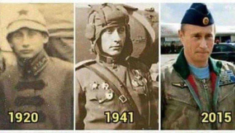 Θεωρίες συνωμοσίας: Ο Πούτιν είναι αθάνατος και ζει ήδη πάνω από 100 χρόνια! (Photos)