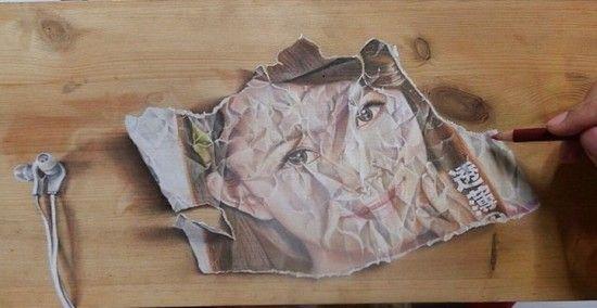 Ivan Hoo e le sue incredibili illusioni ottiche su legno