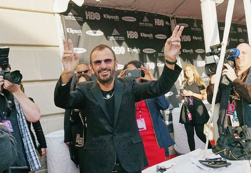 awesome Ringo Starr celebrates seventy fifth birthday in Hollywood with pals, peace and love