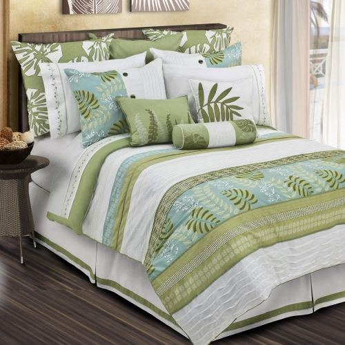 Love This Whole Bed Just Not Sure I Want White Tropical Bedrooms Bedroom Sets Beach Themed Bedroom