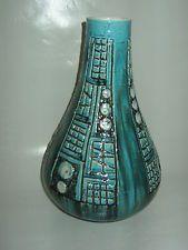 Midcentury Vase Xxl Bodenvase 42 Cm 60 70s Design Bay 50 Vases