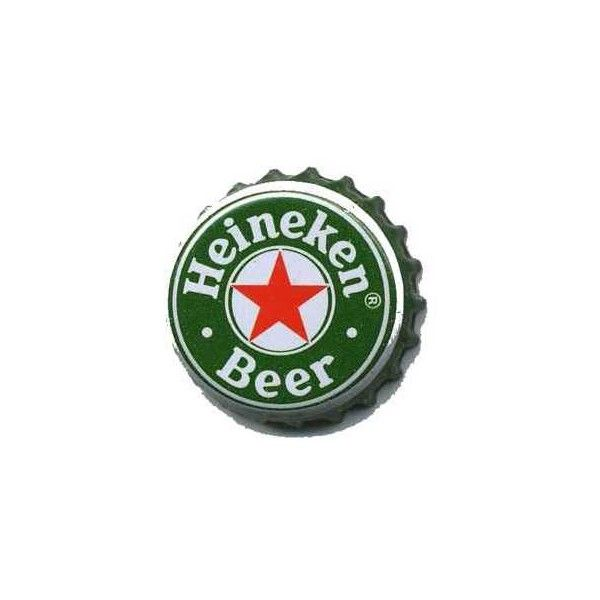 Heineken Bottle Cap Liked On Polyvore Featuring Fillers Food Green Fillers And Stuff Heineken Bottle Heineken Bottle Cap Crafts