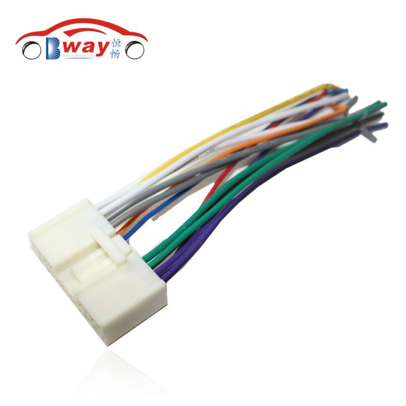 Car Radio Stereo Male ISO Plug Power Adapter Wiring Harness Special ...