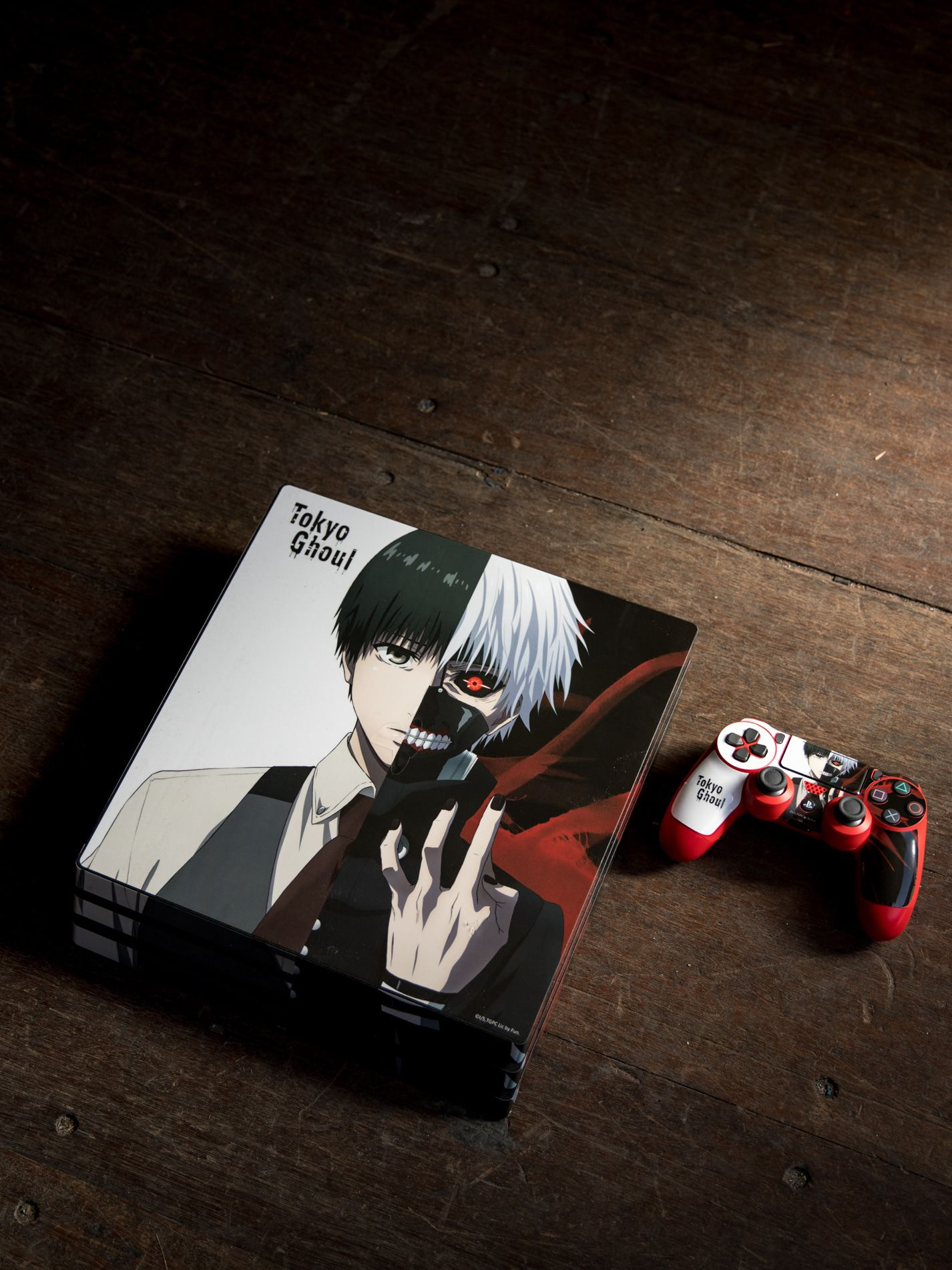 Tokyo Ghoul Ps4 Pro Skins By Skinit Explore Tokyo Ghoul