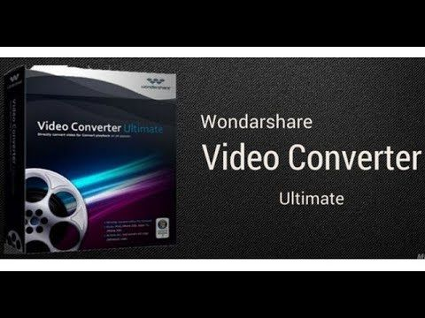 Wondershare Video Converter Ultimate 10 5 1 Crack Serial Key
