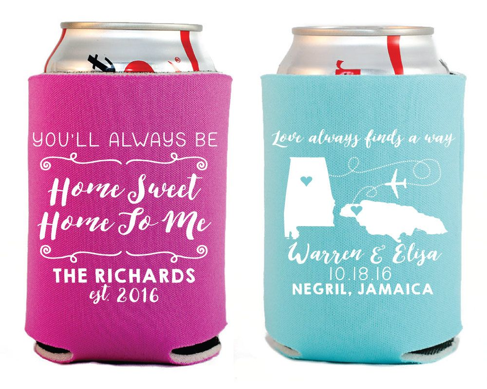 Destination Wedding Favors, Home Sweet Home Wedding Favors, State to ...