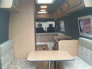 Convert Your Van Ltd Peugeot Boxer Camper Conversion And