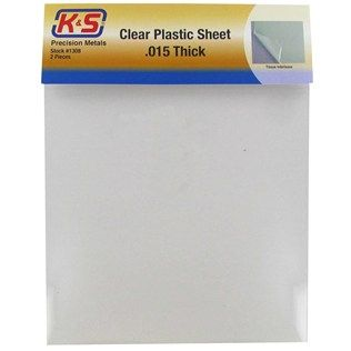 """.use to make 3d ornaments / houses--- paper crafts etc.                   015"""" Clear Plastic Sheets"""