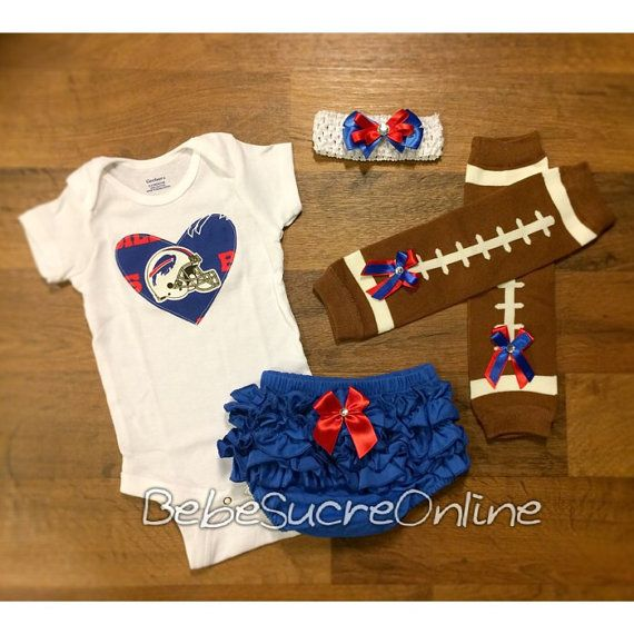Buffalo Bills Game Day Outfit by BebeSucreOnline on Etsy  1b8c00727878