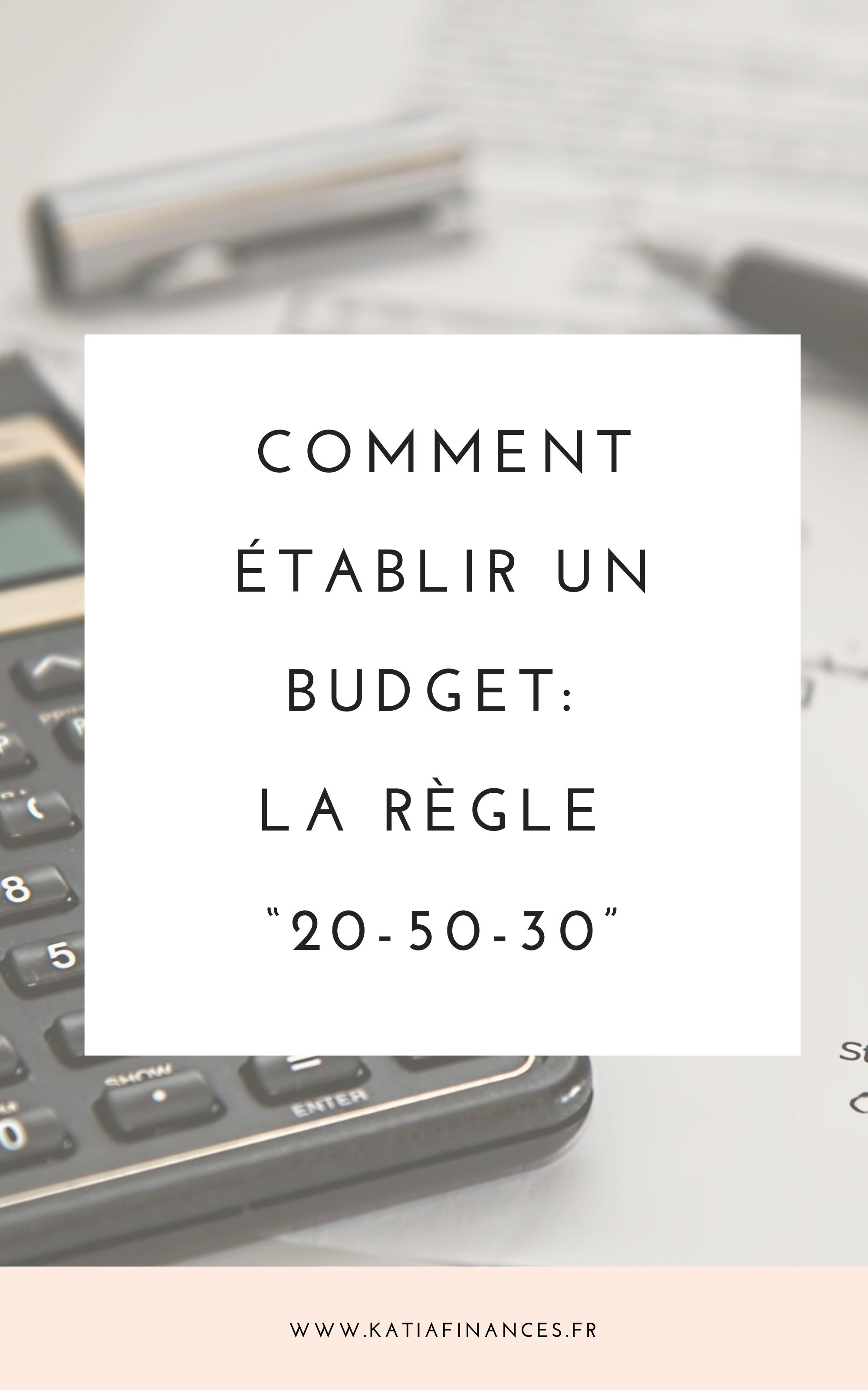 Budget La Regle 20 50 30 Comment Gerer Son Budget Gerer Son Budget Economiser De L Argent
