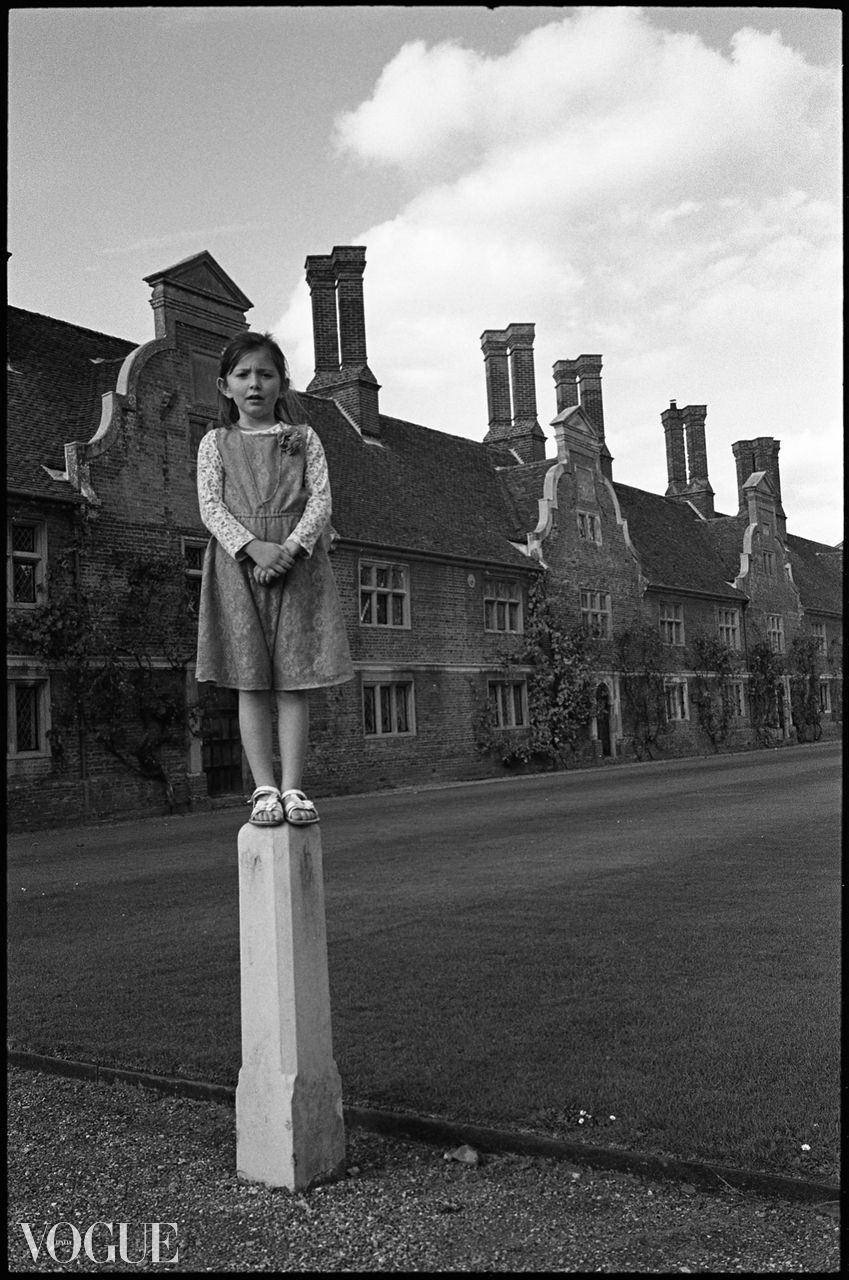 Girl on Pillar, Blickling Estate, Norfolk