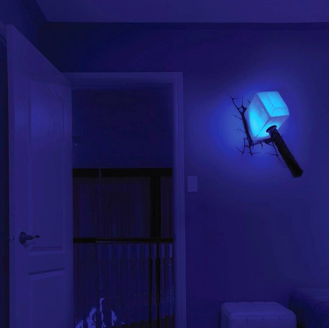 How awesome is this thor hammer night light tag a friend who how awesome is this thor hammer night light tag a friend who would be interested also available in iron man hand iron man mask spiderman head spiderman mozeypictures Image collections