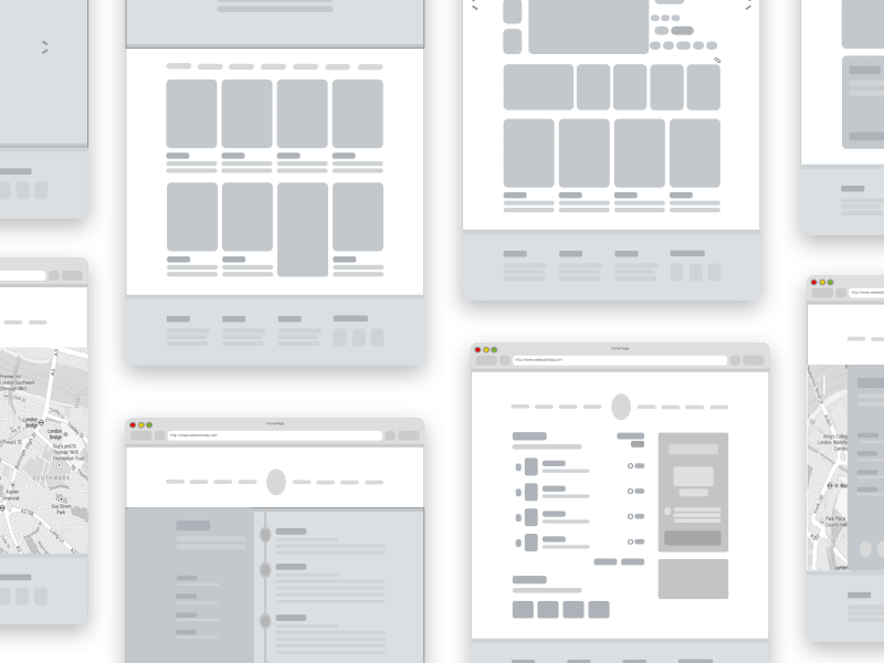 Free Sketch Mottom Wireframe And Sketch File Wireframe Sketch Wireframe Wireframe Template