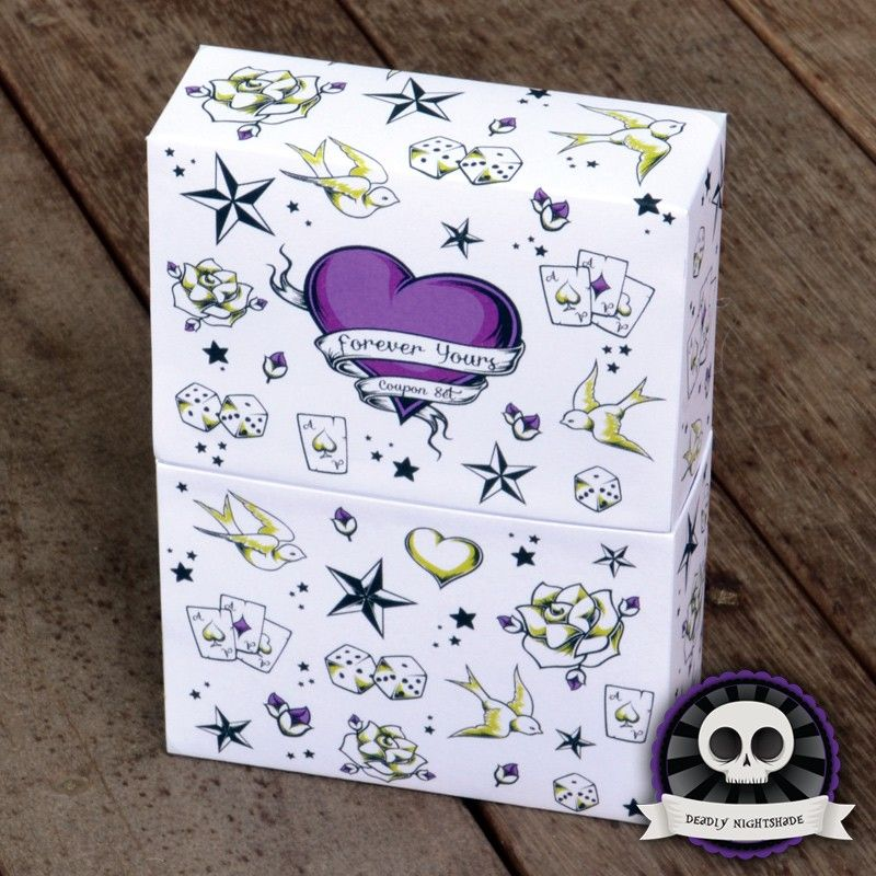 """Coupon Gift Set Retro Tattoo """"Vibe"""" on Deadly Nightshade"""