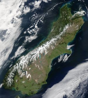 Southern Alps - Wikipedia, the free encyclopedia
